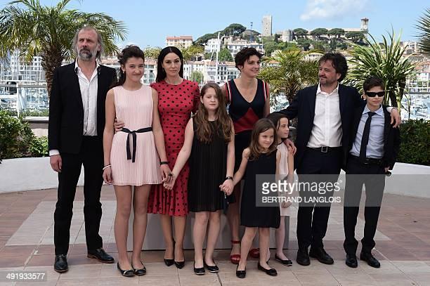 Belgian actor Sam Louwyck Italian actress Maria Alexandra Lungu Italian actress Monica Bellucci Italian director Alice Rohrwacher Italian producer...
