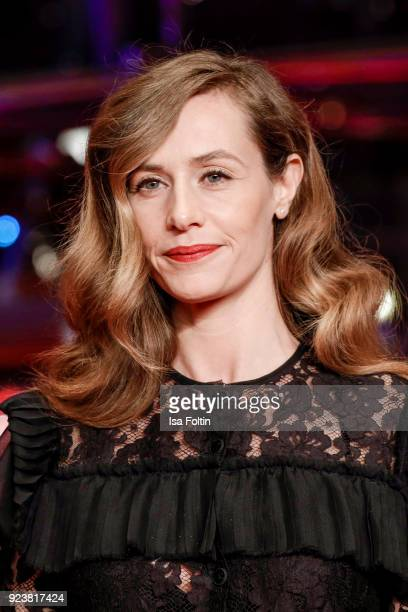 Belgian actress Cecile de France attends the closing ceremony during the 68th Berlinale International Film Festival Berlin at Berlinale Palast on...