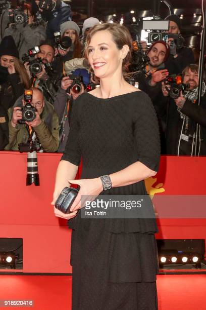 Belgian actress Cecile de France attends the Opening Ceremony 'Isle of Dogs' premiere during the 68th Berlinale International Film Festival Berlin at...