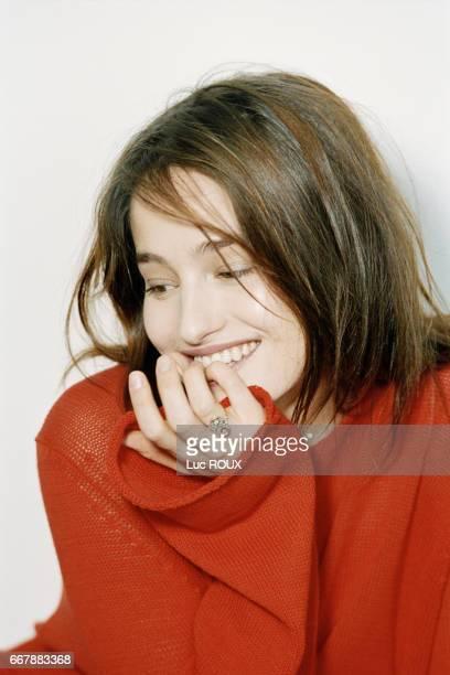 Belgian actress Marie Gillain