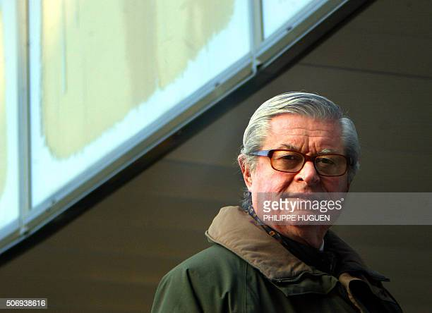 Belgian alleged child killer Marc Dutroux's lawyer Xavier Magnee arrives at the court house of Arlon 03 March 2004 Belgian paedophile Marc Dutroux...