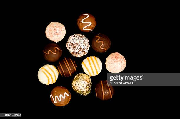 belgian chocolates - traditionally belgian stock pictures, royalty-free photos & images