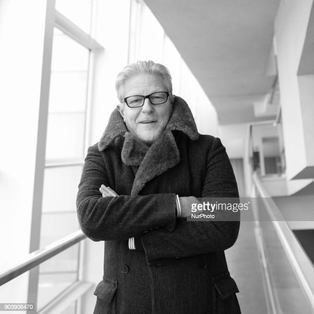 Belgian choreographer and artist Jan Fabre poses prior to the presentation of his performance 'Mount Olympus' at the Canal theater in Madrid Spain 11...