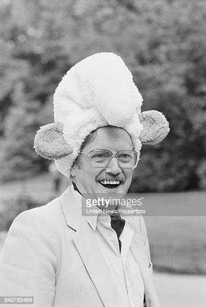 Belgian comic book artist and creator of The Smurfs comic strip characters Peyo pictured in London on 16th June 1982