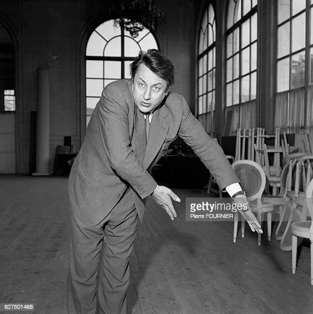 Belgian Comic Raymond Devos , 1958.