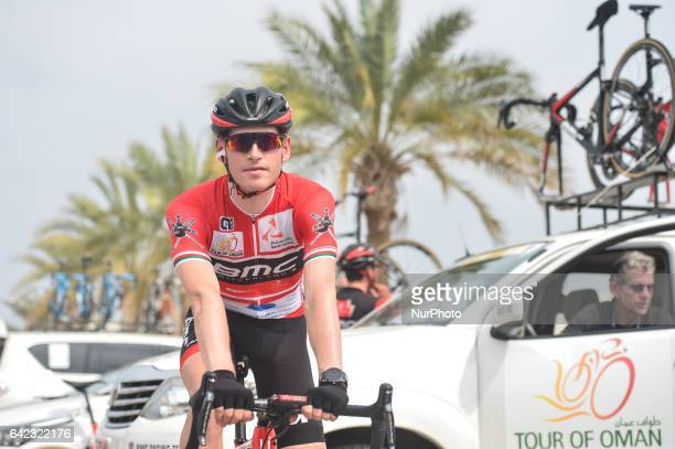 A Belgian cyclist Ben HERMANS from BMC RACING TEAM ahead of the fourth stage a 118km from Yiti to Ministry of Tourism in Muscat at the 2017 cycling...