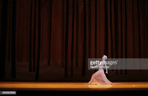 Belgian dancer Bernice Coppieters of the MonteCarlo ballet performs in the show CasseNoisette et Compagnie a new creation by French dancer and...