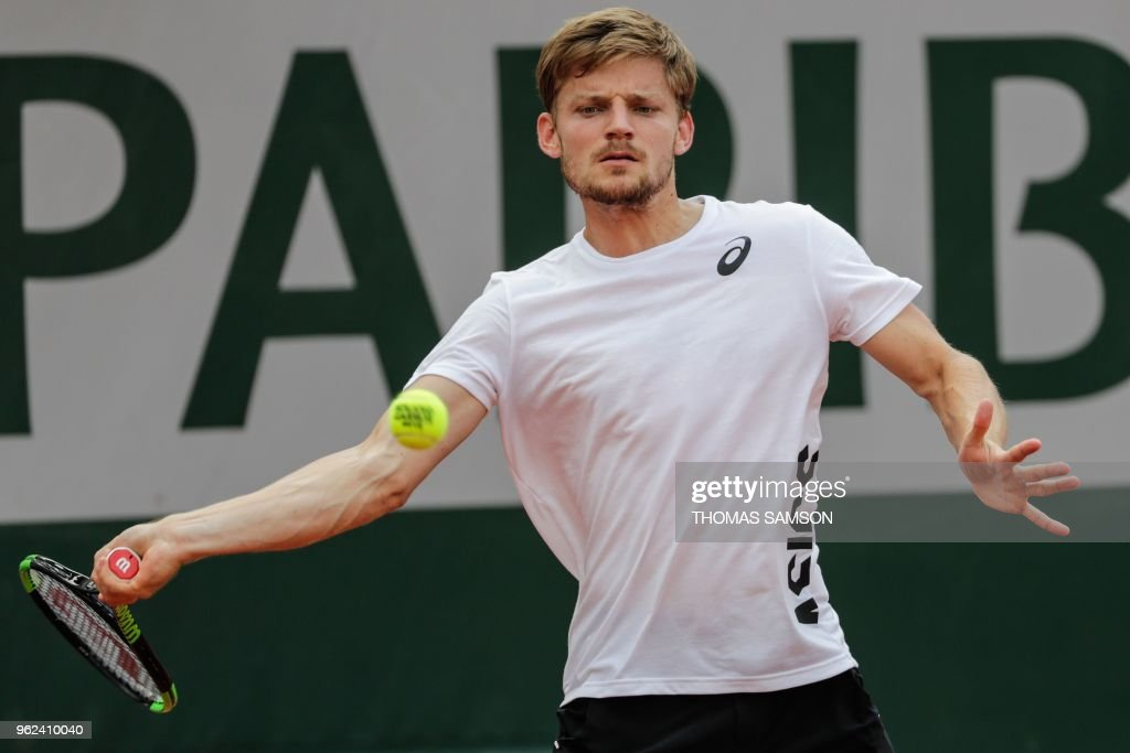 TENNIS-FRA-OPEN-TRAINING : News Photo