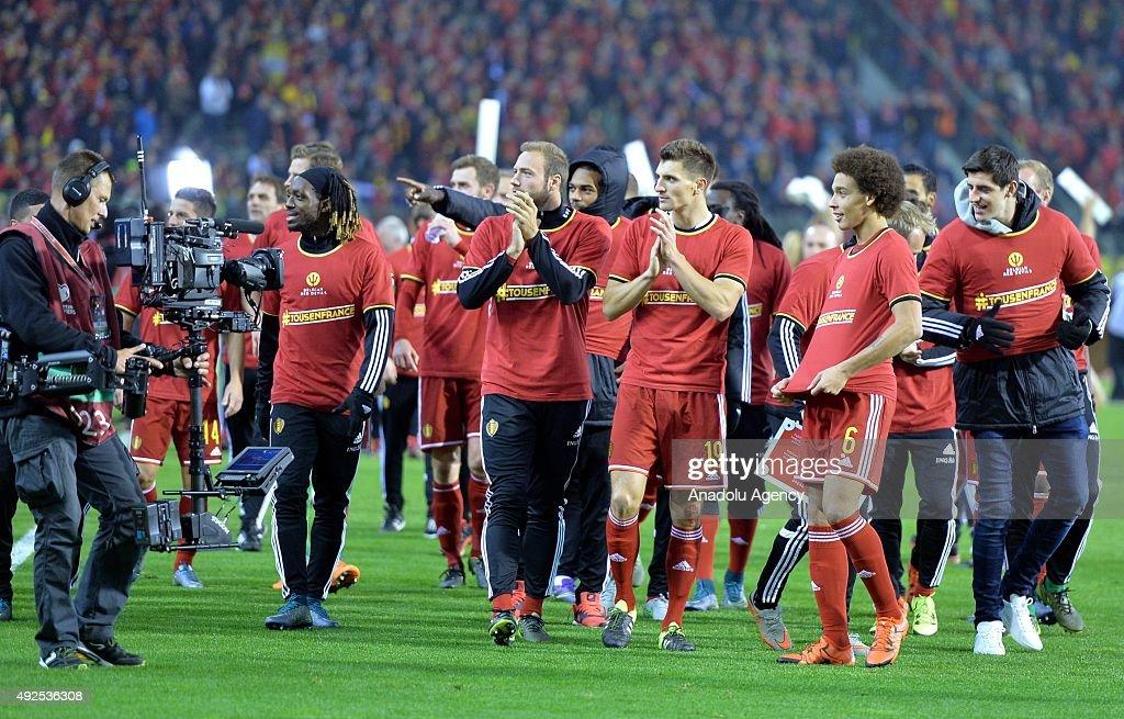 Belgium v Israel - UEFA Euro 2016 qualifying : News Photo