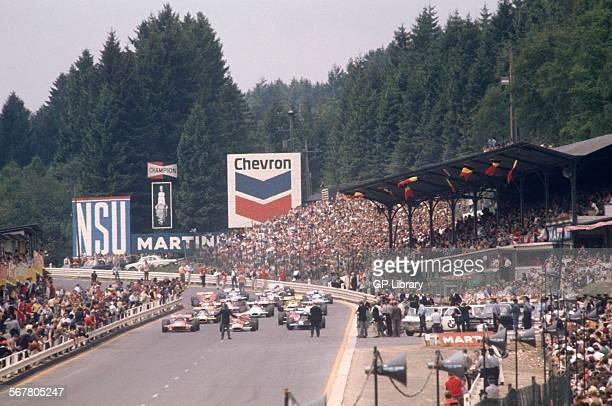 Belgian GP start SpaFrancorchamps 7th June 1970