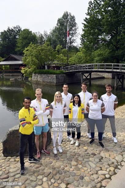 Belgian Ismael Debjani, Belgian Eliott Crestan, Belgian Elise Vanderelst, Tennis Joran Vliegen, Belgian badminton player Lianne Tan, Belgian hockey...