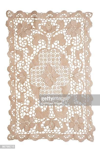 belgian lace - doily bildbanksfoton och bilder