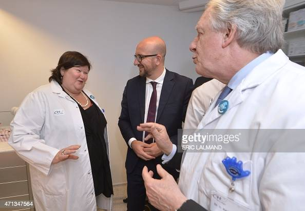 Belgian Minister of Health and Social Affairs Maggie De ...