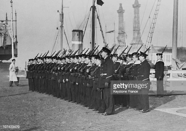Belgian Navy Unit In Belgium On 1939