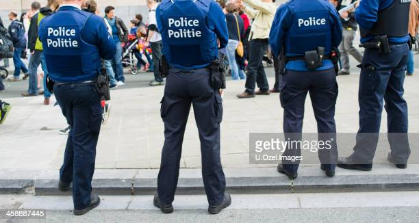 belgian police - police force stock pictures, royalty-free photos & images