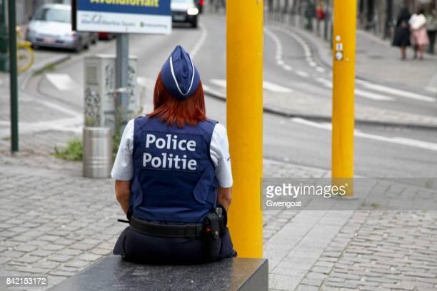 Belgische politieagente