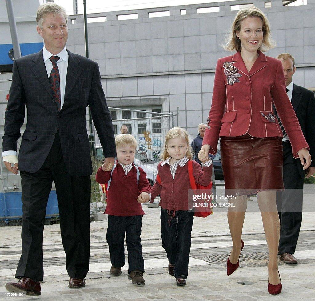 BELGIUM-ROYALS : ニュース写真