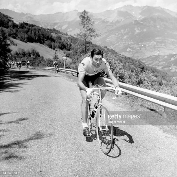 Belgian racing cyclist Eddy Merckx during the 1969 Tour de France which he went on to win