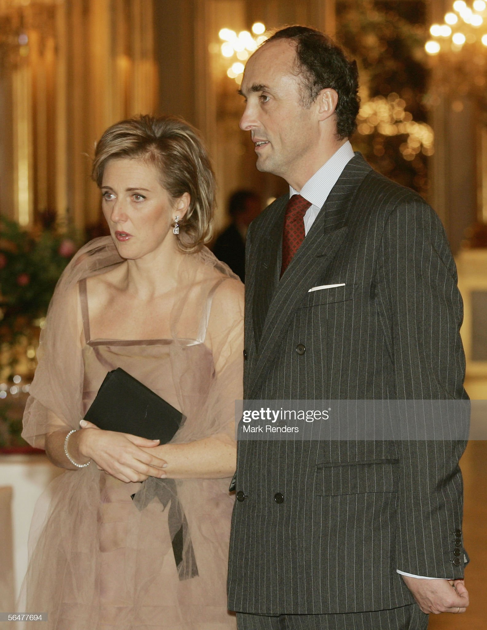 Belgian Royals Attend Christmas Concert : News Photo