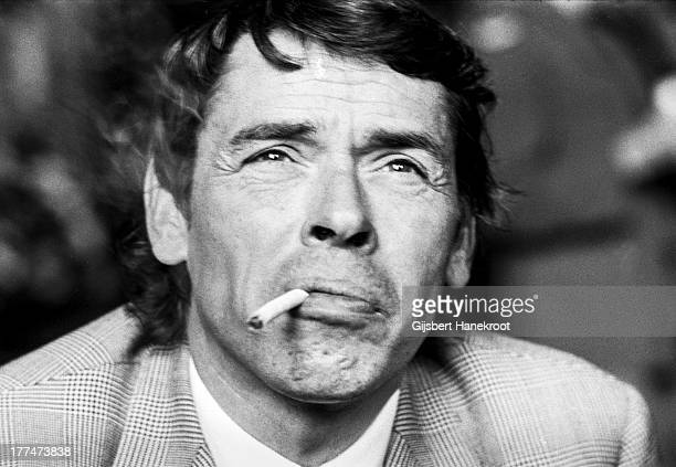 Belgian singersongwriter and actor Jacques Brel Baarn Netherlands 1972