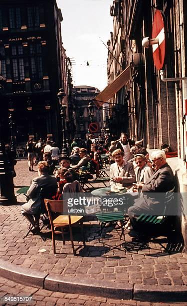 Belgien Bruessel ca 1958 Stadtansicht Grand Place