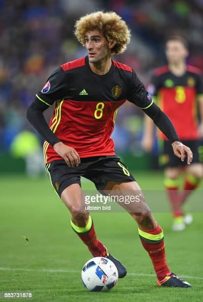 FUSSBALL Belgien Italien Marouane Fellaini