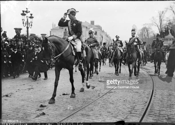 Belgique roi Albert 1er/Cliche C.Chusseau-Flaviens, between 1900 and 1919.