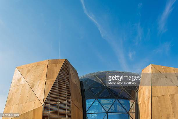 'Belgium 21st Century Italy Lombardy Milan Expo 2015 Detail exterior A pavilion built for Expo Milano 2015 ''Feeding the Planet Energy for Life''...
