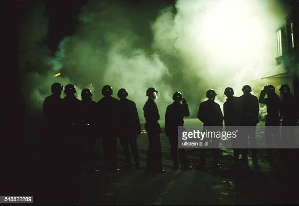 Belgium: A battle in Gravensvoeren at night.