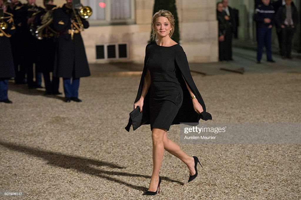 State Dinner in Honor of Raul Castro Ruz, President Of Cuba At Elysee Palace In Paris : News Photo