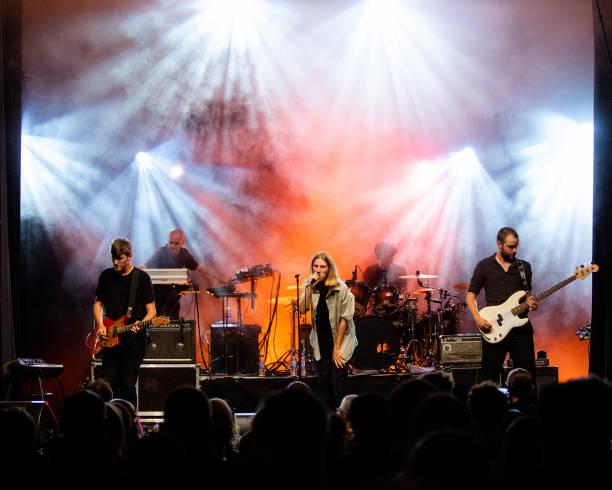 DEU: Whispering Sons Perform In Berlin