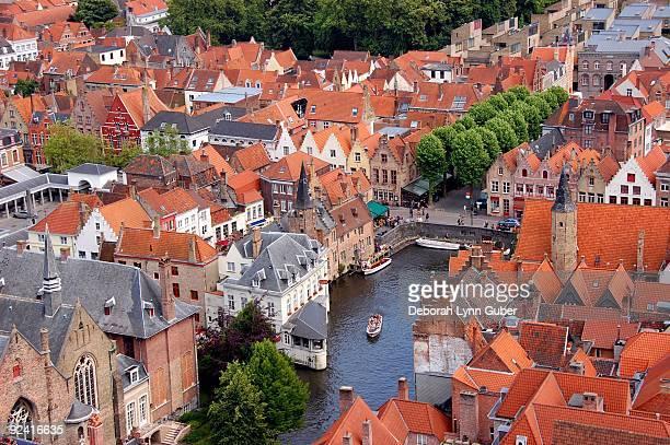 Belgium, Brugge, cityscape