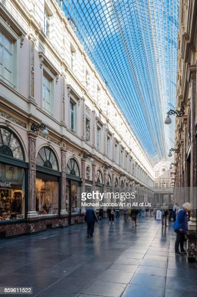Belgium Brussels Galeries Royales SaintHubert 21st september 2015