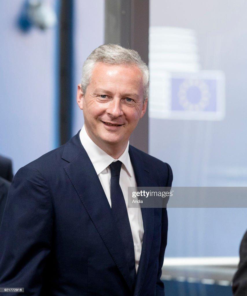 Bruno Le Maire. : News Photo
