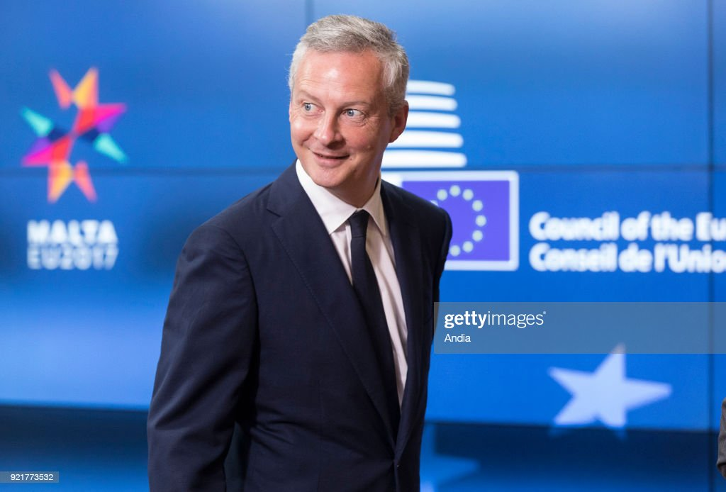 Bruno Le Maire. : News Photo