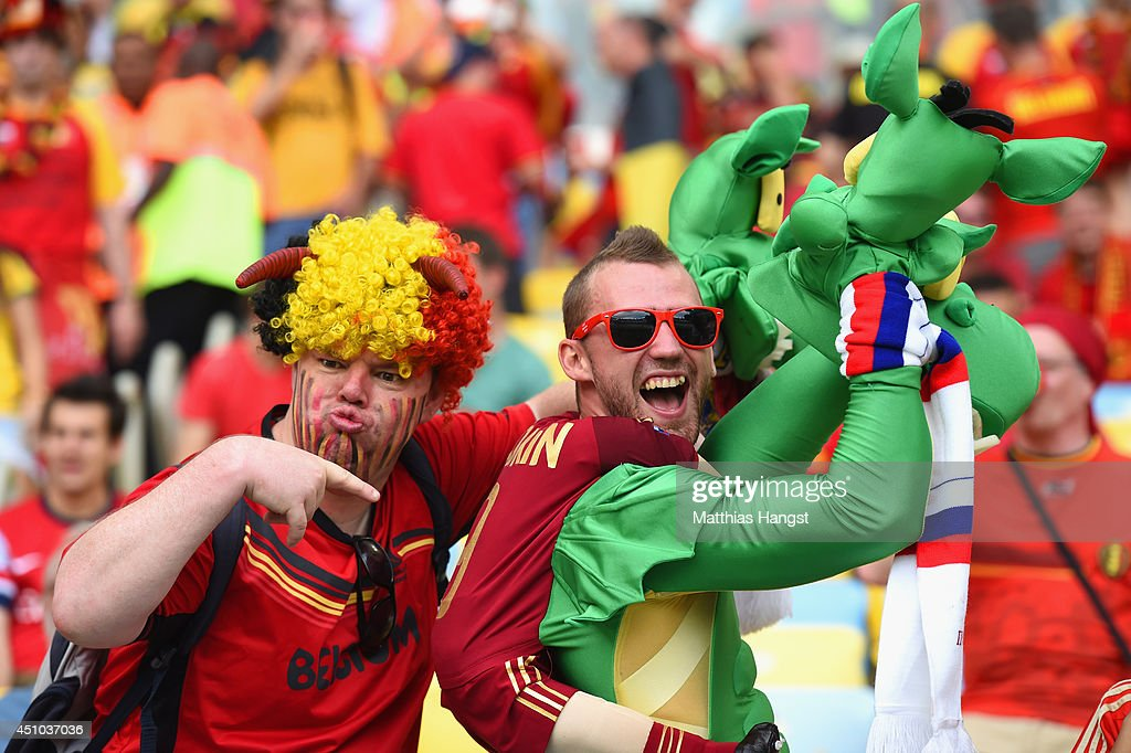 Belgium v Russia: Group H - 2014 FIFA World Cup Brazil : News Photo