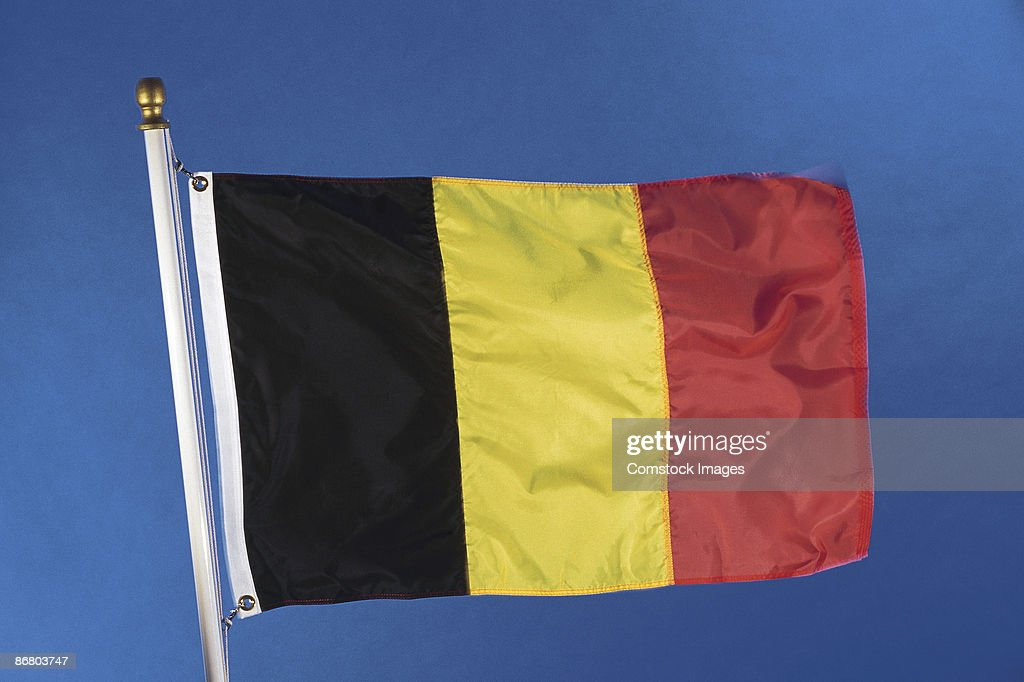 Belgium Flag : Stock Photo