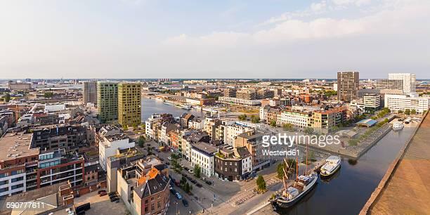 Belgium, Flanders, Antwerp, Het Eilandje, former dock area, hotspot