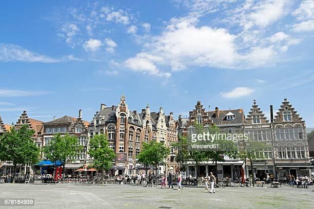 Belgium, Flanders, Ghent, Friday market, Vrijdag market