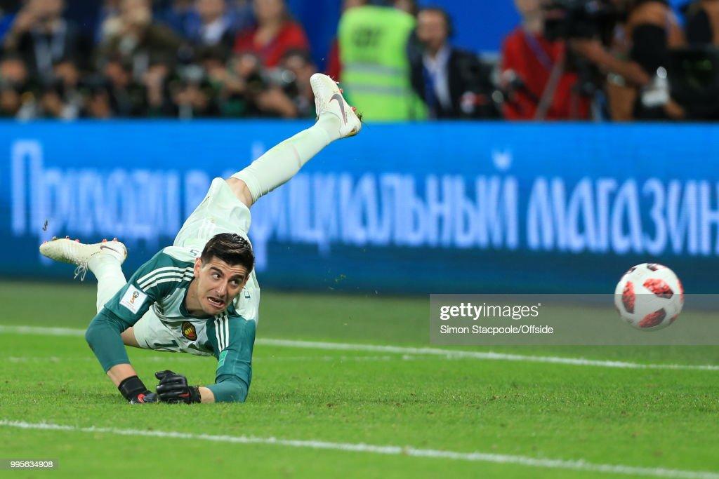 France v Belgium: Semi Final - 2018 FIFA World Cup Russia : News Photo