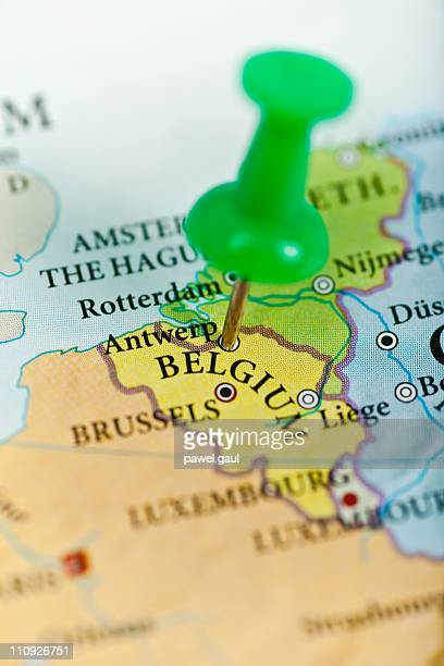 belgium map - belgium stock pictures, royalty-free photos & images