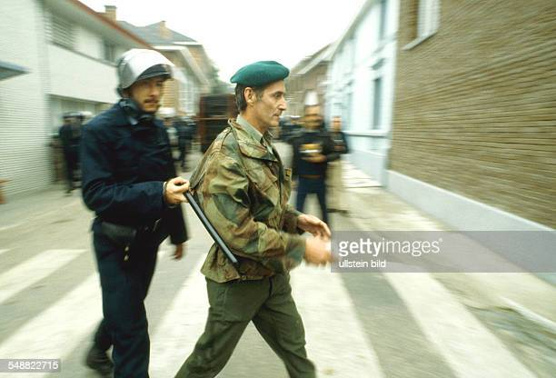 Belgium: Neo-Nazi chief Erikson is being arrested.