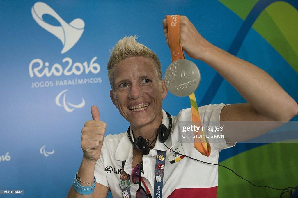 OLY-2016-PARALYMPIC-VERVOOT-PRESSER : News Photo