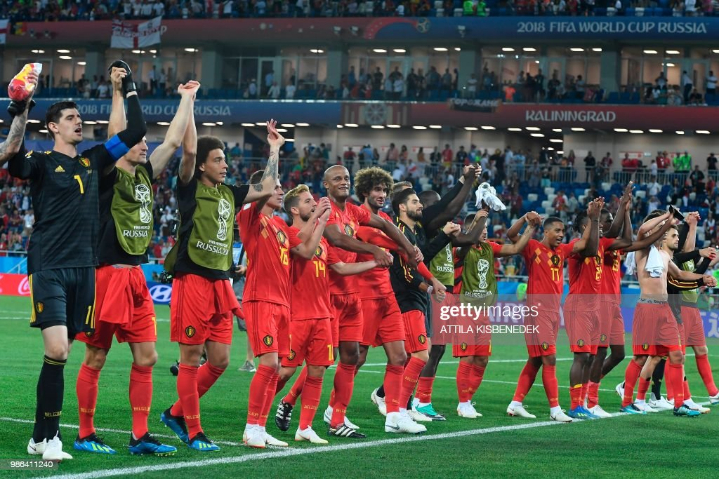 FBL-WC-2018-MATCH45-ENG-BEL : News Photo
