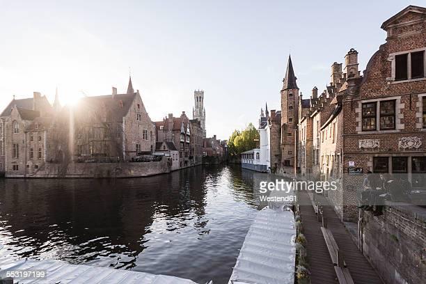Belgium, West Flanders, Bruges, Rozenhoedkaai