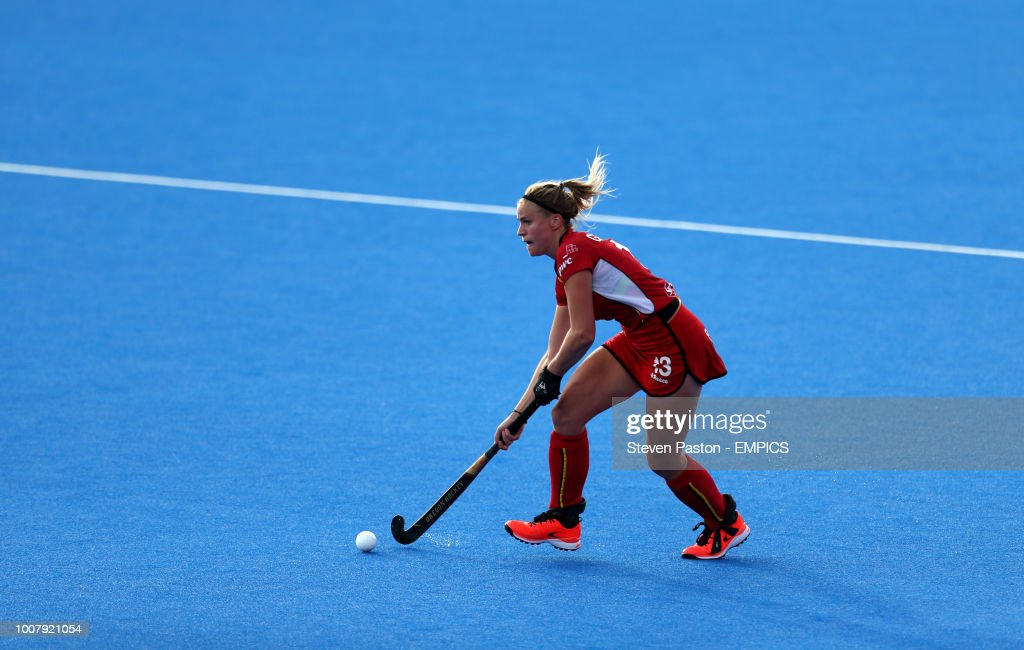 Belgium v Spain - Women's Hockey World Cup 2018  - Cross-over Stage - Lee Valley Hockey & Tennis Centre : News Photo
