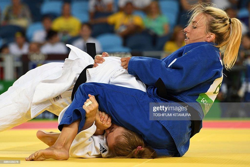 JUDO-OLY-2016-RIO-WOMEN--48 : News Photo