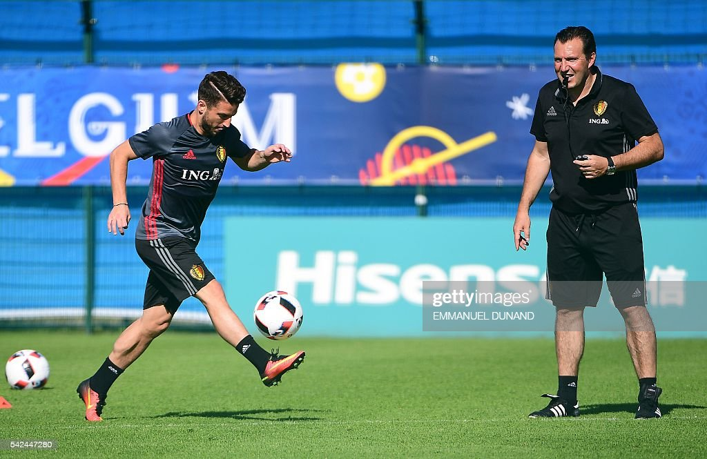 FBL-EURO-2016-BEL-TRAINING : News Photo