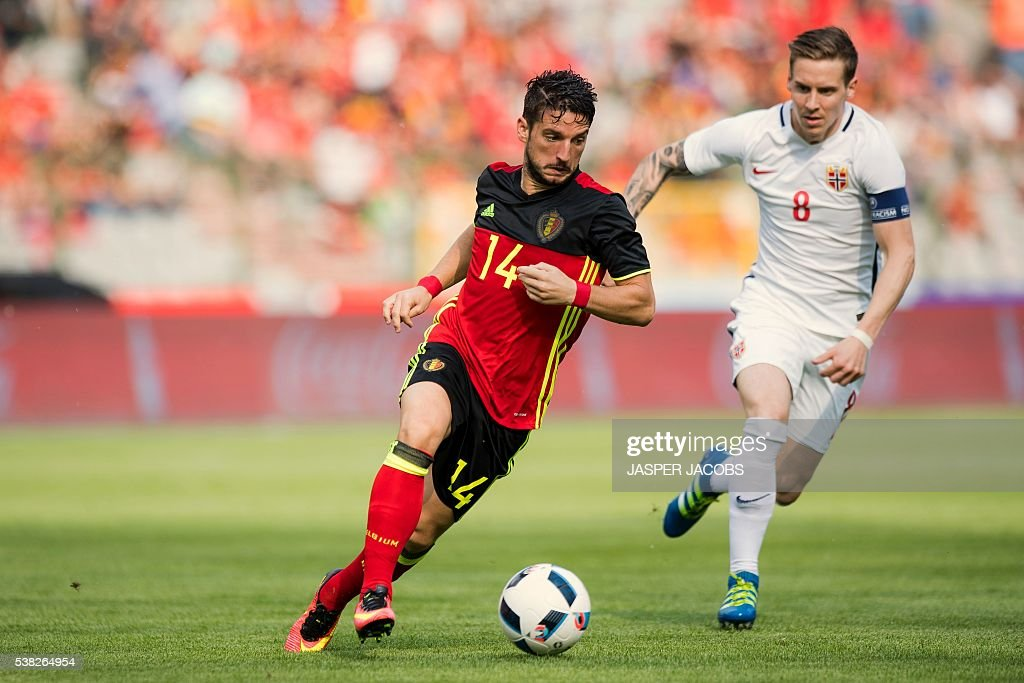 FBL-EURO-2016-BEL-NOR-FRIENDLY : News Photo