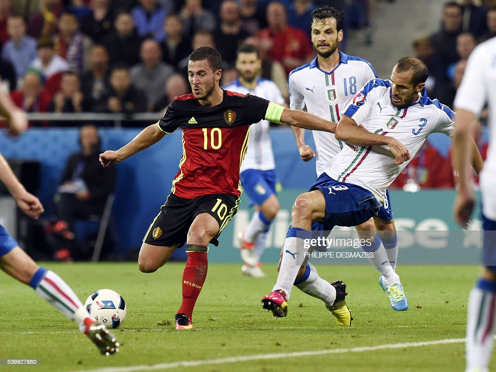 FBL-EURO-2016-MATCH10-BEL-ITA : News Photo